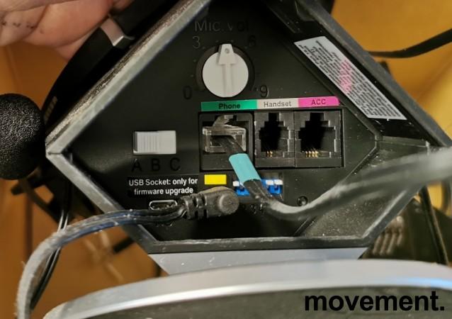 Sennheiser DW Pro 2, trådløs hodetelefon med mikrofon, til telefon/PC, pent brukt bilde 2