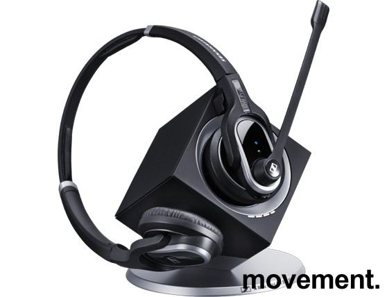 Sennheiser DW Pro 2, trådløs hodetelefon med mikrofon, til telefon/PC, pent brukt bilde 1