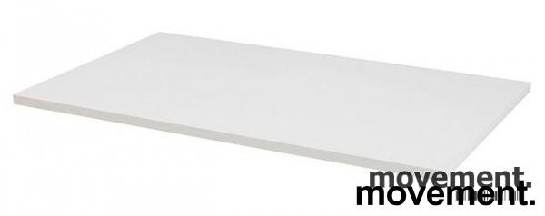 Hvit bordplate til skrivebord 200x80cm, NY/UBRUKT