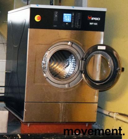 Industrivaskemaskin IPSO WF165C, 3fas 230Volt 18,75kW, 165liters kapasitet, pent brukt, 2010-modell bilde 6