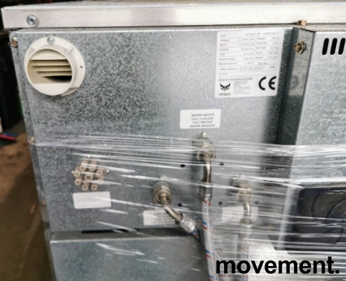 Industrivaskemaskin IPSO WF165C, 3fas 230Volt 18,75kW, 165liters kapasitet, pent brukt, 2010-modell bilde 5