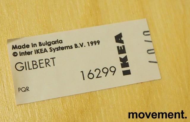 Konferansestol: Gilbert stol fra Ikea i bjerk finer / krom, pent brukt bilde 3