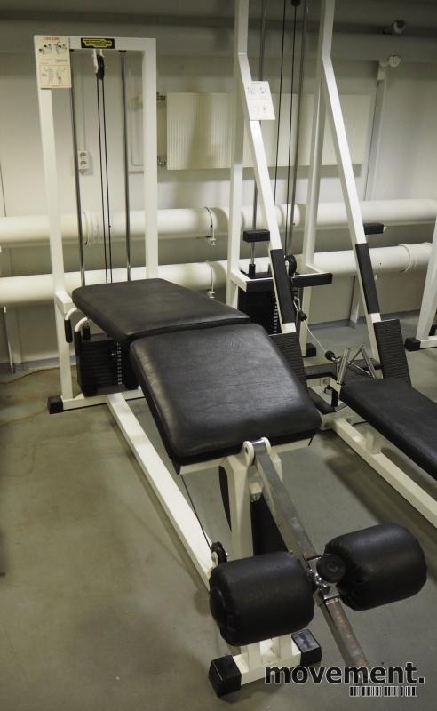 Leg curl-maskin / treningsapparat fra Technogym, pent brukt bilde 1