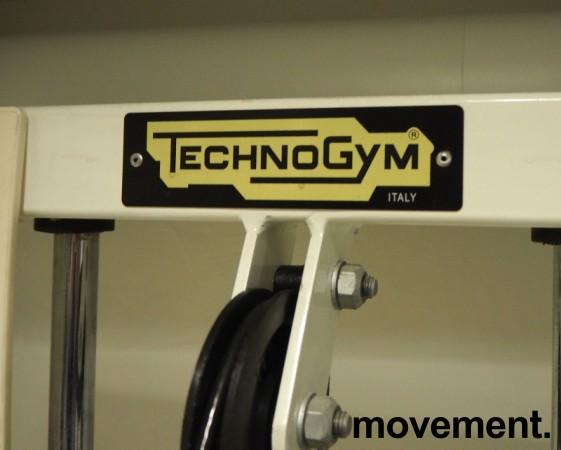 Leg curl-maskin / treningsapparat fra Technogym, pent brukt bilde 3