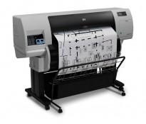 Hewlett-Packard DesignJet 7100 storformatskriver A1 / 106cm utskriftsbredde, pent brukt