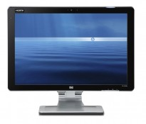 Flatskjerm til PC: HP Pavilion w2448hc, 24toms, 1920x1200, HDMI/DVI/VGA/USB, pent brukt