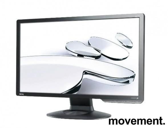 Flatskjerm til PC: Benq, 24toms, G2411HD, 1920x1080 Full HD, HDMI/VGA/DVI, pent brukt bilde 1