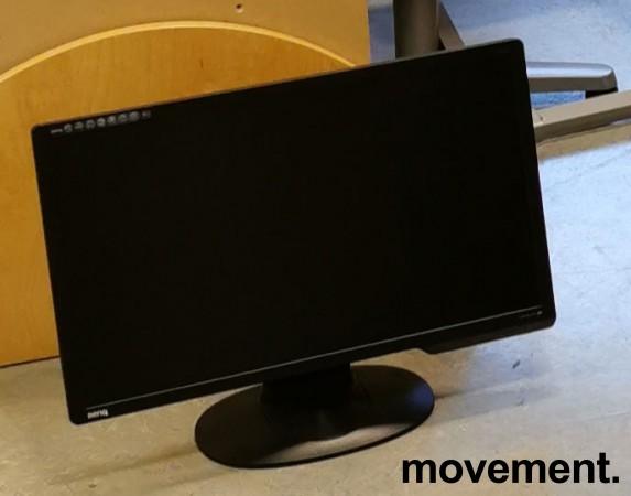 Flatskjerm til PC: Benq, 24toms, G2411HD, 1920x1080 Full HD, HDMI/VGA/DVI, pent brukt bilde 2
