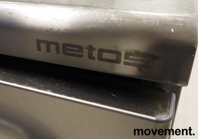 Kjølebenk fra Metos i rustfritt stål med kjøledør og kjøleskuff, 160cm bredde, pent brukt bilde 3