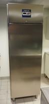 Metos Fryseskap i rustfritt stål for storkjøkken, 70cm bredde, 202cm høyde, pent brukt