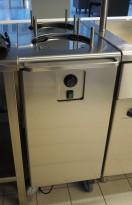 Tallerkentralle med varmefunksjon / tallerkenvarmer fra Metos, pent brukt