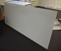 Whiteboard i glass fra Lintex, 200x88cm, pent brukt