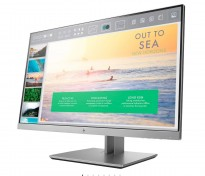 Flatskjerm til PC: HP Elitedisplay E233, LED IPS 23toms, 1920x1080 Full HD, DP/HDMI/DVI/VGA/USB3.0, tilt, pent brukt