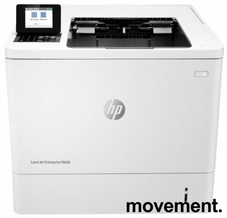 Nettverks laserskriver: Hewlett-Packard LaserJet Enterprise M608dn, monokrom, NY bilde 1