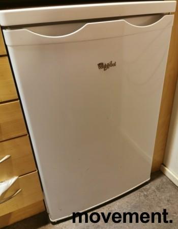 Lite kjøleskap fra Whirlpool, modell RE130A, 55cm bredde, 86cm høyde, pent brukt bilde 1