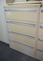 Arkivskap fra Fossafe for hengemapper, dobbel bredde, 90cm bredde, pent brukt