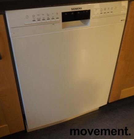 Siemens SN436W01KS oppvaskmaskin i hvitt, pent brukt bilde 2