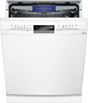Siemens SN436W01KS oppvaskmaskin i hvitt, pent brukt