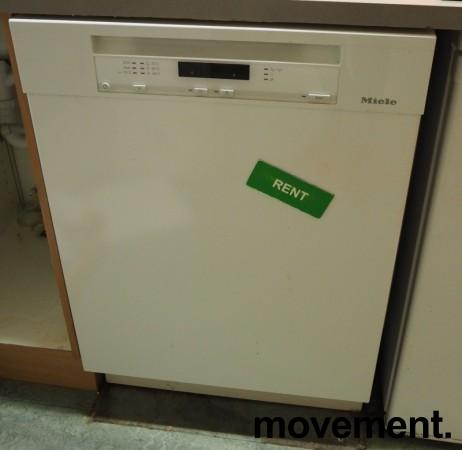 Miele G6100SCU oppvaskmaskin i hvitt, pent brukt bilde 2