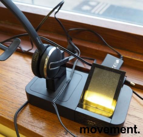 Jabra Pro 9400BS Trådløst Headset med base, for fasttelefon, mobiltelefon og PC, pent brukt bilde 1