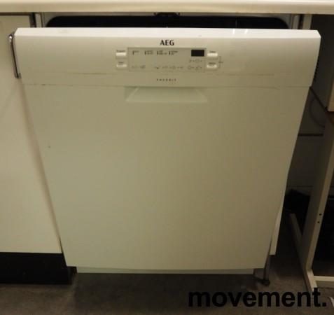 AEG FFB41600ZW oppvaskmaskin i hvitt, pent brukt bilde 2