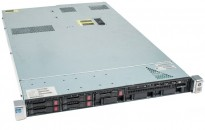 Rackserver 1units, HP Proliant DL360p Gen8, 2x Xeon E5-2620v2 2,1GHz, 16GB / 2xPSU, pent  brukt