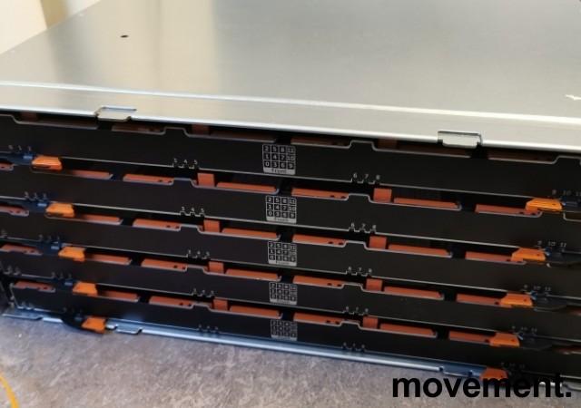 Dell SAN - PowerVault MD3660f - 60 x Diskbays, pent brukt 2013-modell bilde 1