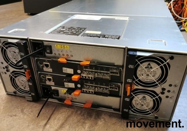 Dell SAN - PowerVault MD3660f - 60 x Diskbays, pent brukt 2013-modell bilde 2