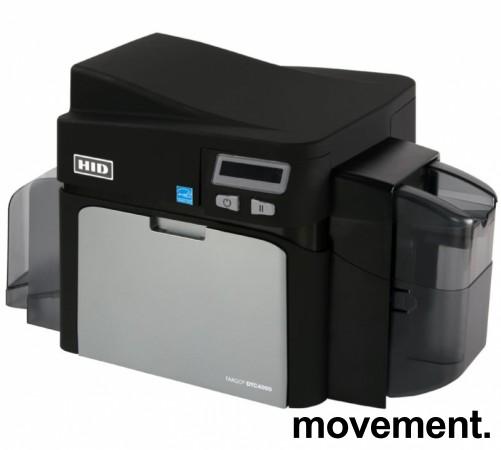 Kortskriver for adgangskontroll: HID Fargo DTC4000, USB, pent brukt bilde 1