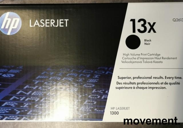 HP Original Q2613X (13X) Toner til Laserjet 1300, NY/UBRUKT I ESKE