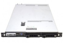 Rackserver: Dell PowerEdge R300,1U, 1x Xeon X3323 - 2,5GHz, 4GB / SAS6IR, 2xPSU, pent brukt