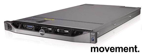 Rackserver: Dell PowerEdge R610,1U, 1 x Xeon X5506 2,13GHz Nehalem, 8GB/6x2,5toms SAS slots, pent brukt bilde 4
