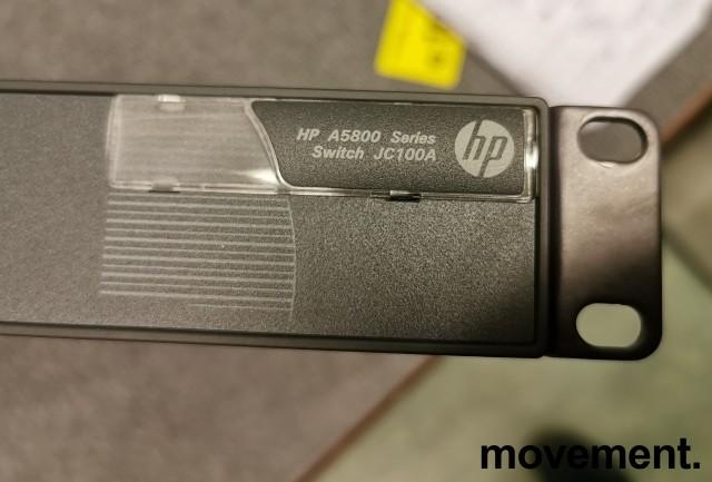 Hewlett-Packard HPE A5800 24port L3 Managed switch JC100A, pent brukt bilde 2