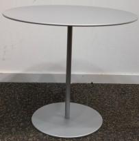 Lite, rundt loungebord i grått fra Cassina, modell On-Off, Design Piero Lissoni, Ø=49.5cm, noe riper