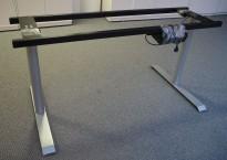 Understell for skrivebord med elektrisk hevsenk, passer plater 160cm, pent brukt