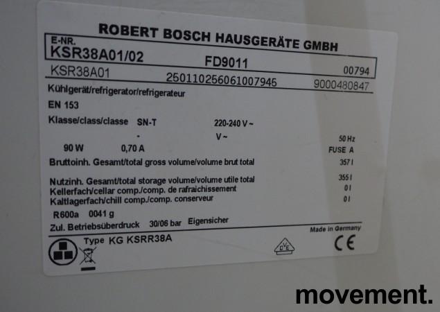 Bosch KSR38A01 frittstående kjøleskap, 185cm høyde, pent brukt bilde 4