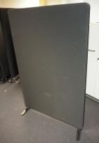 Skillevegg fra Lintex i sort, 151cm høyde, 100cm bredde, pent brukt