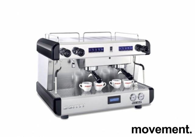 Espressomaskin fra Conti, modell CC100, 2gruppers, 1fas strøm 16A 230V, pent brukt bilde 7
