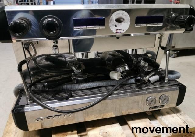 Espressomaskin fra Conti, modell CC100, 2gruppers, 1fas strøm 16A 230V, pent brukt bilde 6
