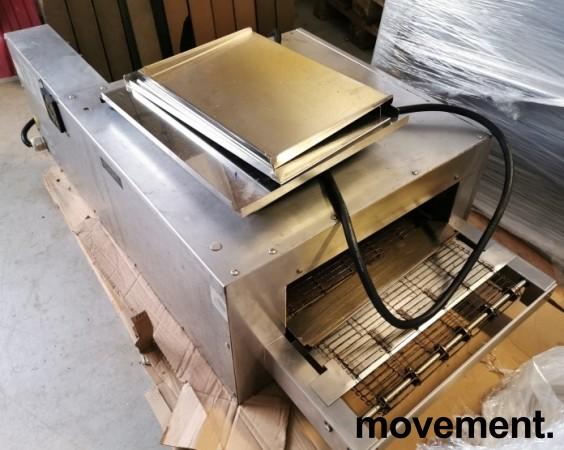 Pizzaovn belteovn CTX Toastmaster, 3fas 230V, pent brukt bilde 5