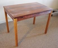 Retro loungebord i palisander, Bruksbo / Haug Snekkeri, 72x45x55cm, pent brukt