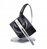 Sennheiser DW Office BS, trådløs hodetelefon med mikrofon, til telefon/PC, pent brukt