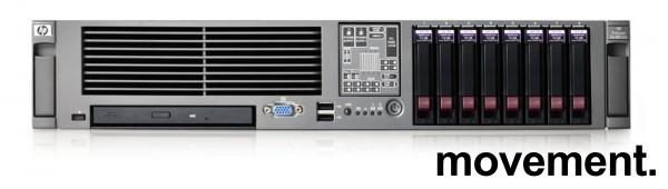 HP rackserver Proliant DL380 G5 - 2 x Intel Xeon 2,33GHz, 8GB Minne, 2xPSU, pent brukt