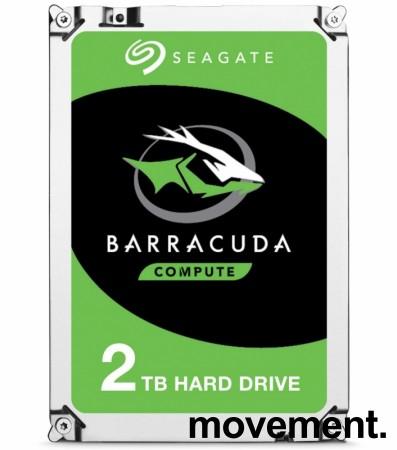 Harddisk: Seagate Barracuda ST2000DM008 / DM006, 2TB, 3,5toms, NY I FORSEGLET EMB. bilde 1