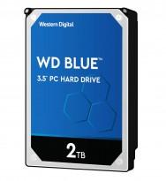 Harddisk: Western Digital Blue WD20EZRZ, 2TB, NAS, 3,5toms, NY I FORSEGLET EMB.