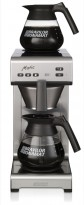Bravilor Matic Kaffetrakter for fast vanntilkopling, med varmeplate på toppen, 1fas 230Volt, pent brukt