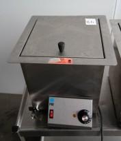 Pølsekoker fra FKI, modell CL-A1N i rustfritt stål, pent brukt