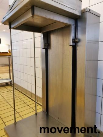 Brettdispenservogn for kantinebrett, pent brukt bilde 4