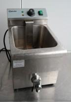 Bartscher 29cm bredde frityr, EF-12L, 3,25kW, 230v enfas, pent brukt