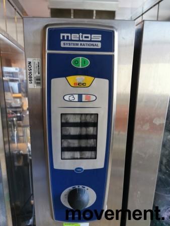 Metos Rational Selfcooking Center MSCC 201, med geidervogn, for 230Volt 3fas, pent brukt bilde 6